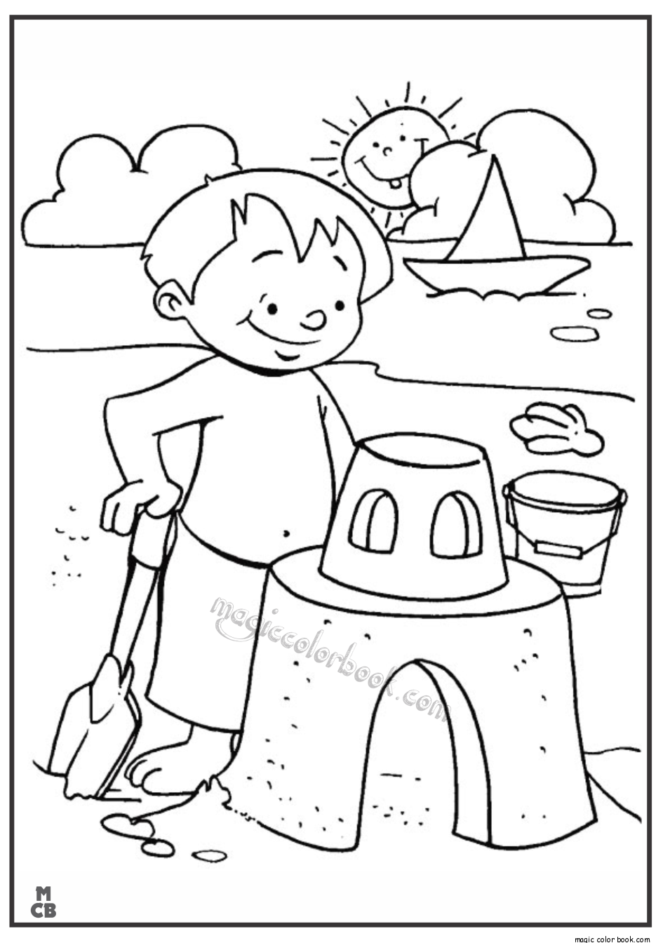 945x1344 Printable Ocean Coloring Pages For Kids Top Butterfly Online Fun