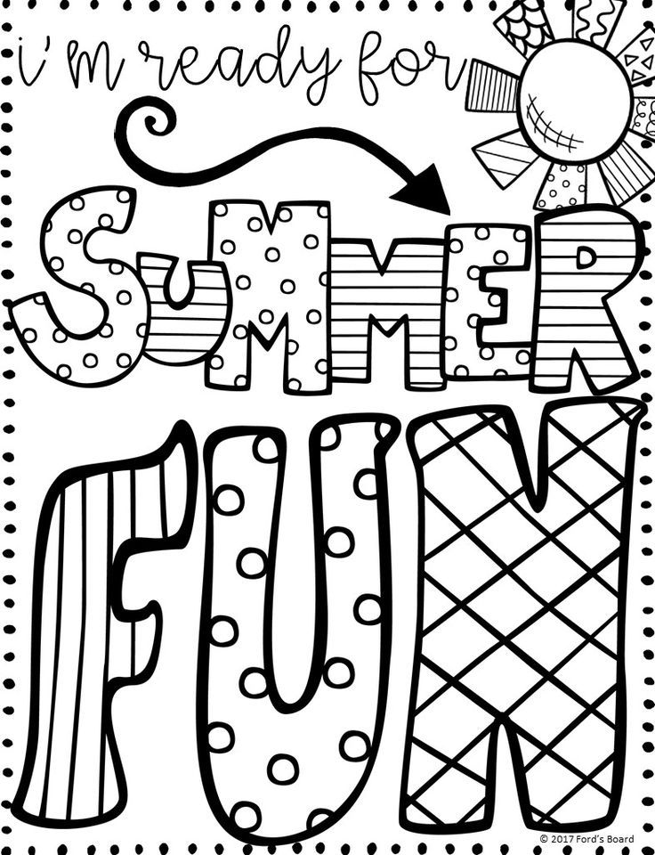 736x960 Quick Summertime Coloring Sheets Pages Printable Image Sporturka