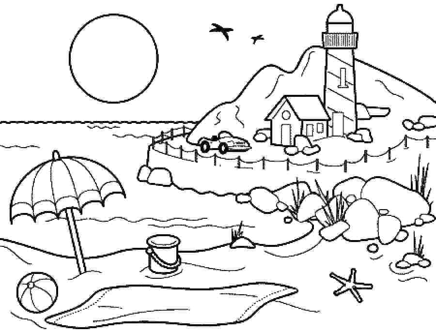900x688 Summer Coloring Pages For Older Kids Free Coloring Pages Printable