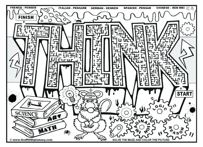 840x607 Cool Coloring Pages For Older Kids