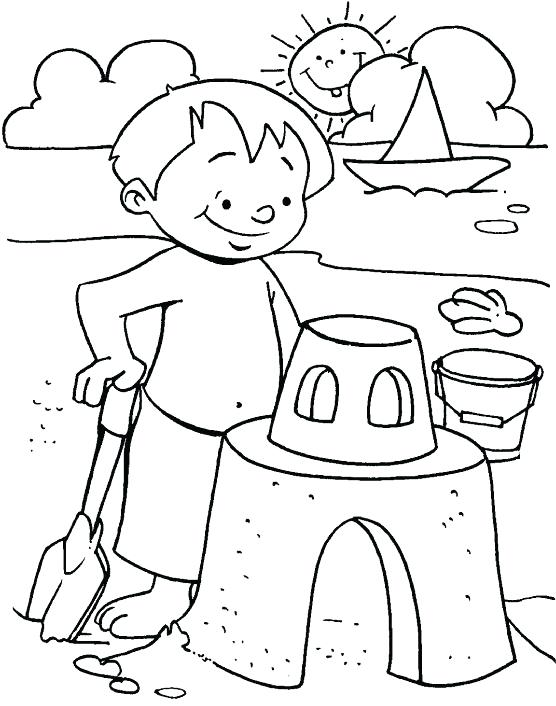 556x706 Summer Coloring Page Summer Printable Coloring Book For Kids Free