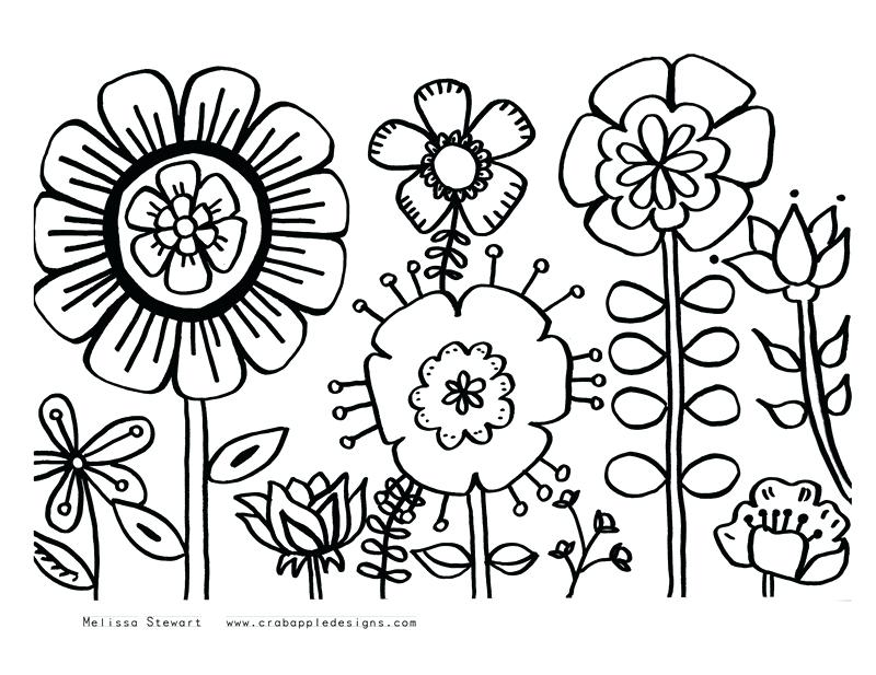 800x617 Summer Coloring Sheets For Kids Free Summer Coloring Pages