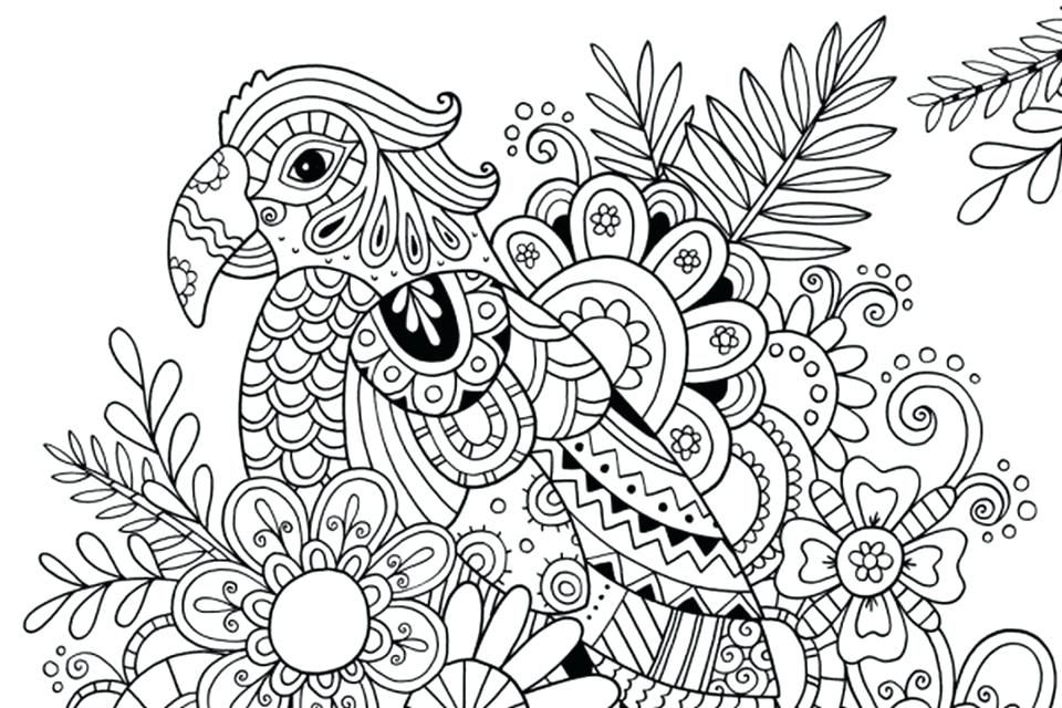 960x640 Free Printable Summer Coloring Pages For Adults Summer Coloring