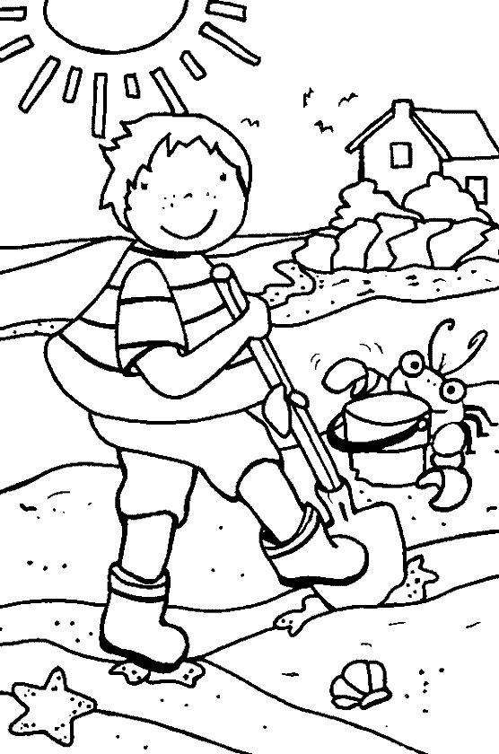 556x840 Toddler Summer Coloring Pages Print Out