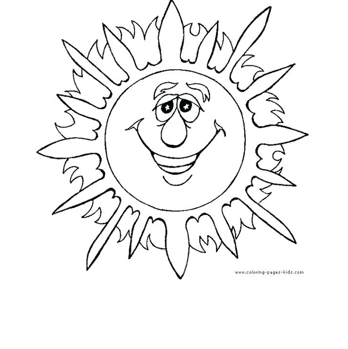 714x716 Summer Coloring Pages Printable Preschool Coloring Pages Summer