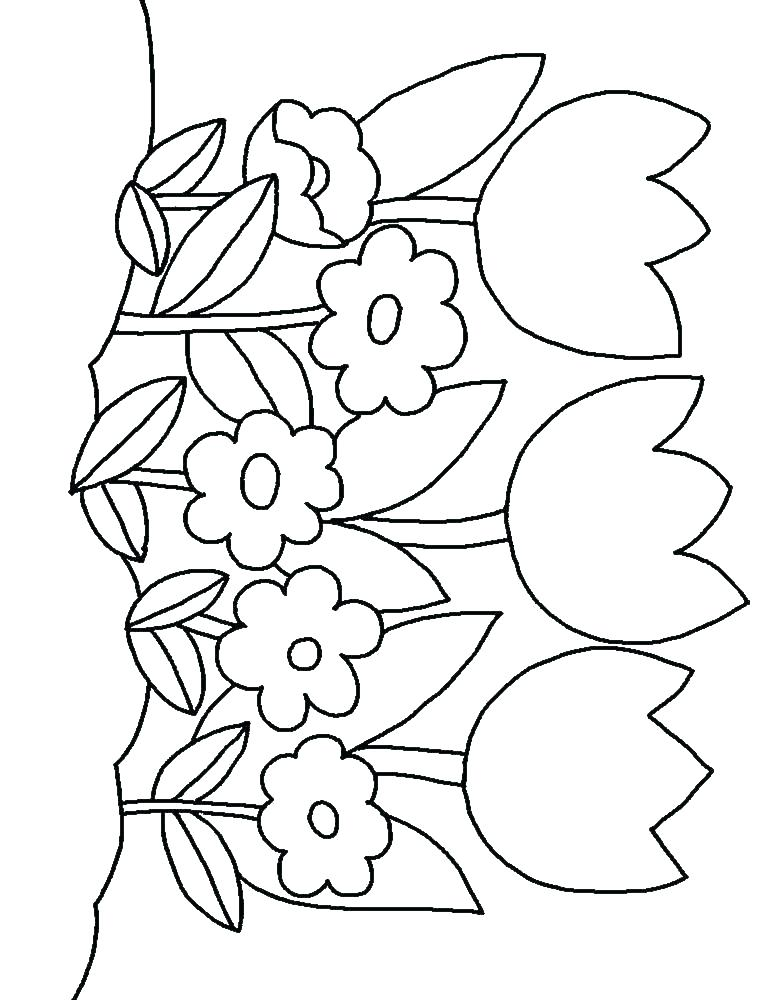 768x1000 Printable Flowers Coloring Pages Jgheraghty Site