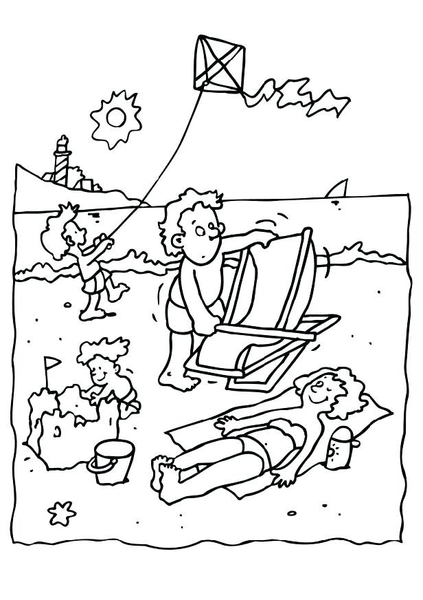 616x872 Summer Fun Coloring Pages Summer Fun Coloring Pages Summer Fun