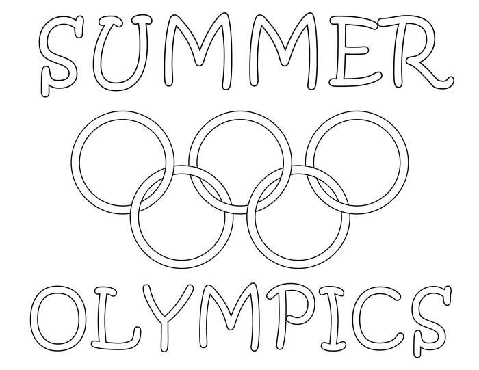 700x541 Olympic Coloring Pages