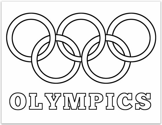 560x435 Olympic Coloring Sheets Best Olympic Rings Colors Ideas