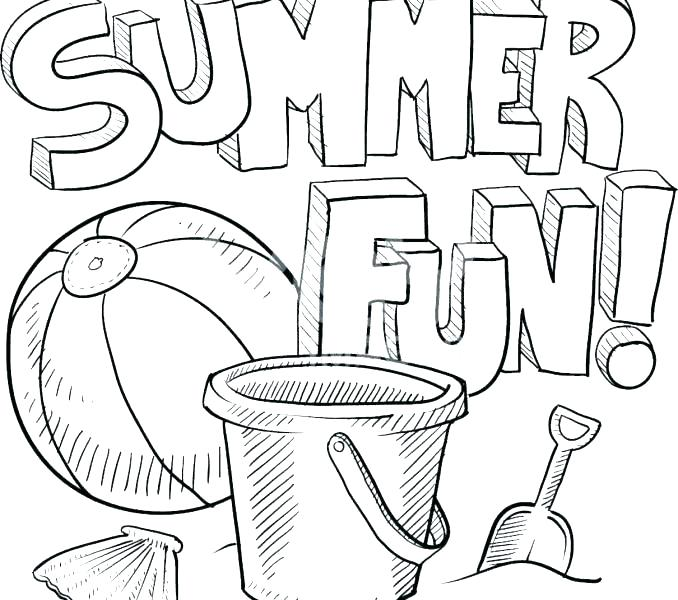 678x600 Summer Coloring Pages Color Pages Coloring Book Together