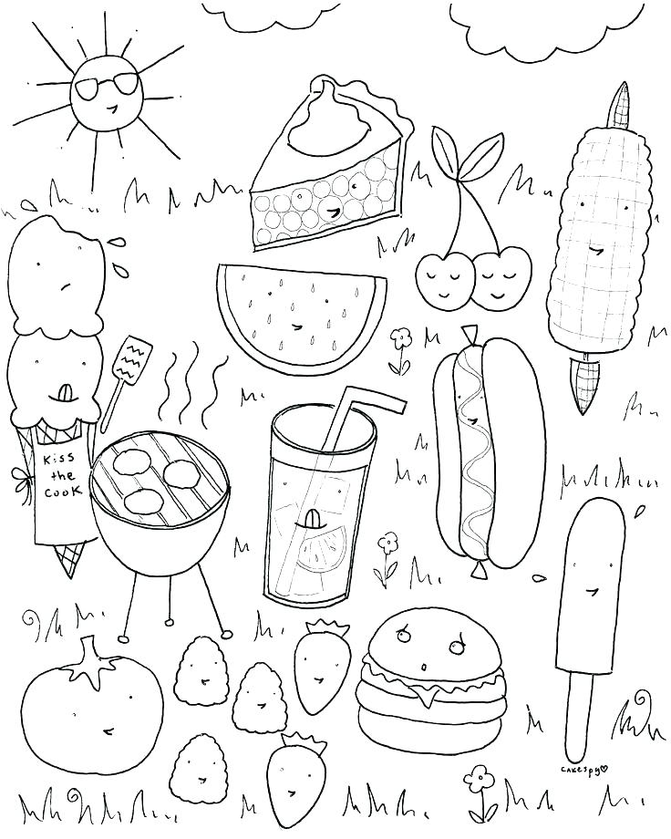 736x920 Coloring Pages Summer Flowers Summer Safety Coloring Pages Summer