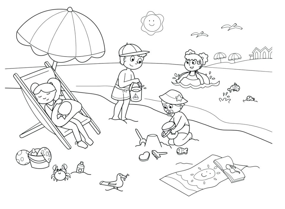 960x706 Free Summer Coloring Pages Summer Coloring Pages Free Printable