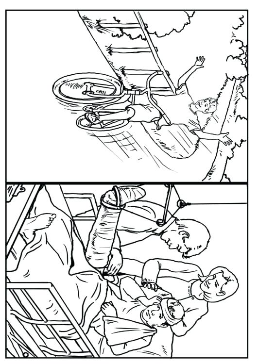 531x750 Road Safety Coloring Pages Bike Safety Coloring Pages Kids
