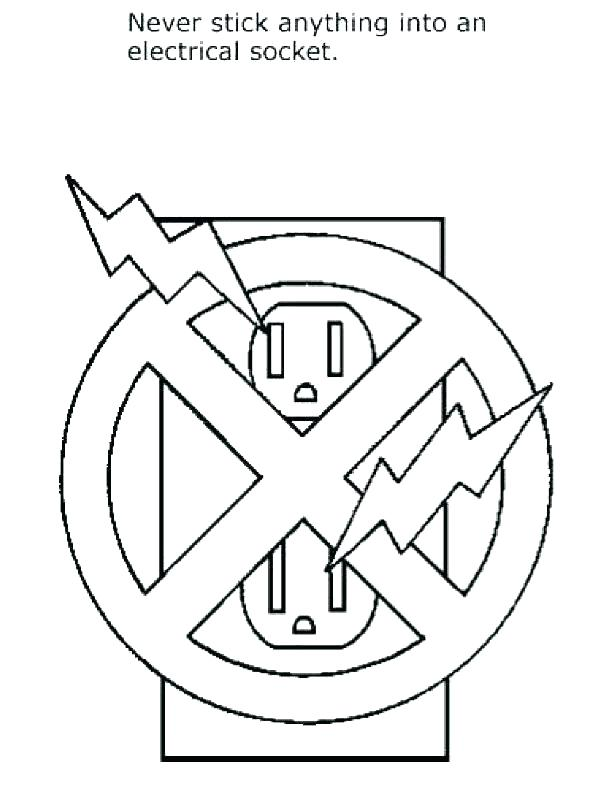 612x792 Safety Coloring Pages Free Fire Safety Coloring Pages Fire Safety