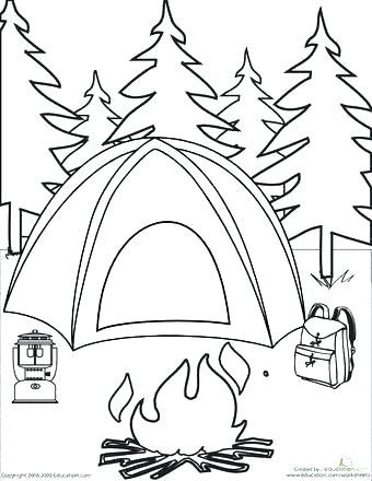 340x440 Beautiful Free Printable Safety Coloring Pages Or Free Summer