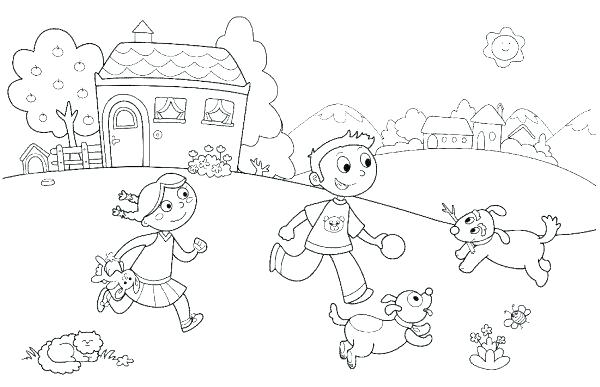 600x387 Summer Coloring Page Summer Colouring Pages For Toddlers
