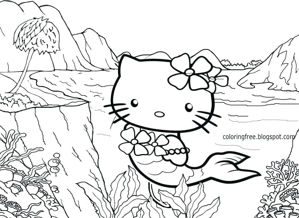 1024x745 Or Summer Beach Coloring Pages Summer Coloring Page For Kids Beach