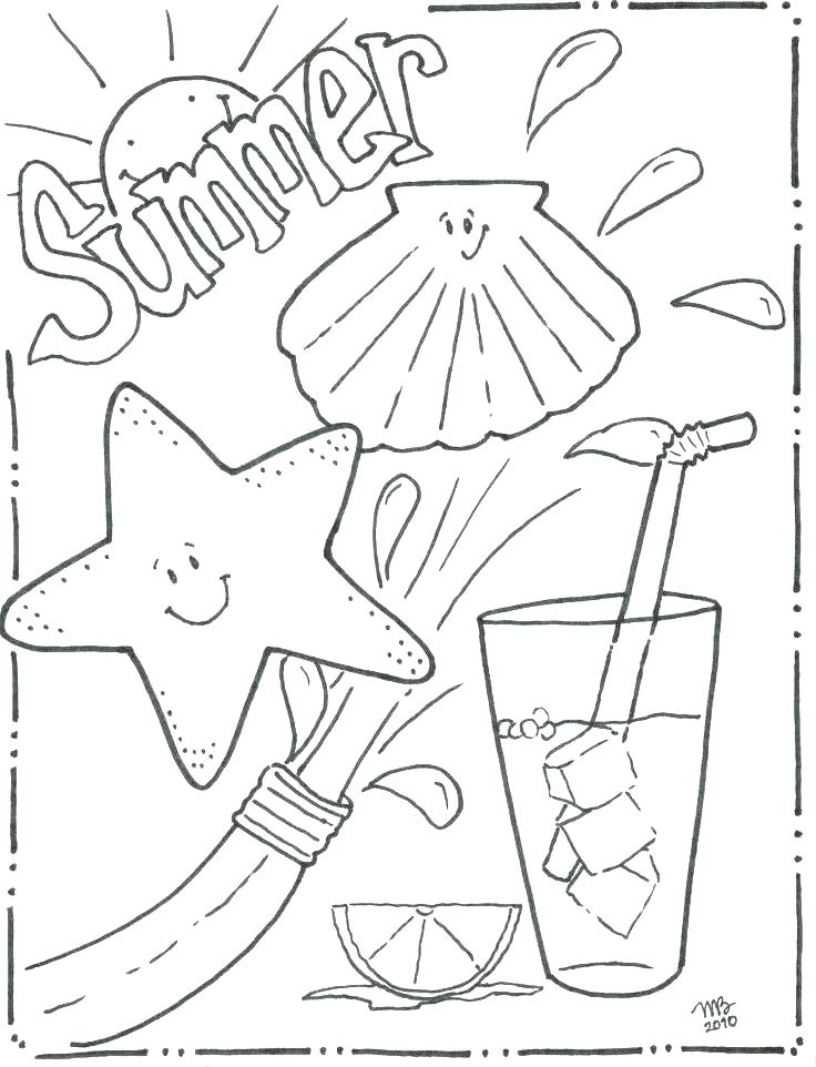 736x962 Beach Coloring Page Beach Scene Coloring Pages Coloring Page Beach