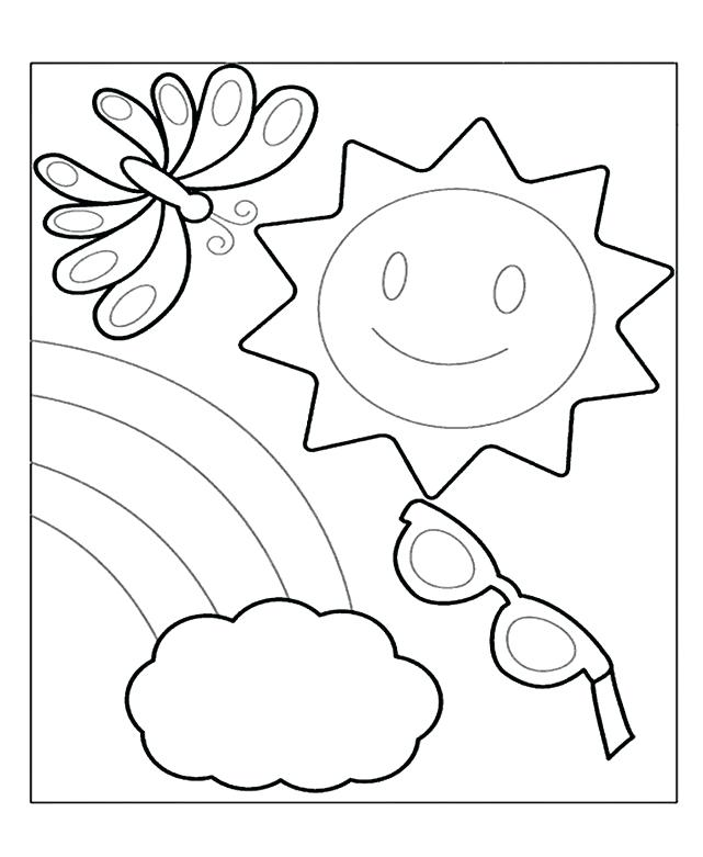 641x781 Summer Coloring Pages Coloring Pages Summer Season Summer