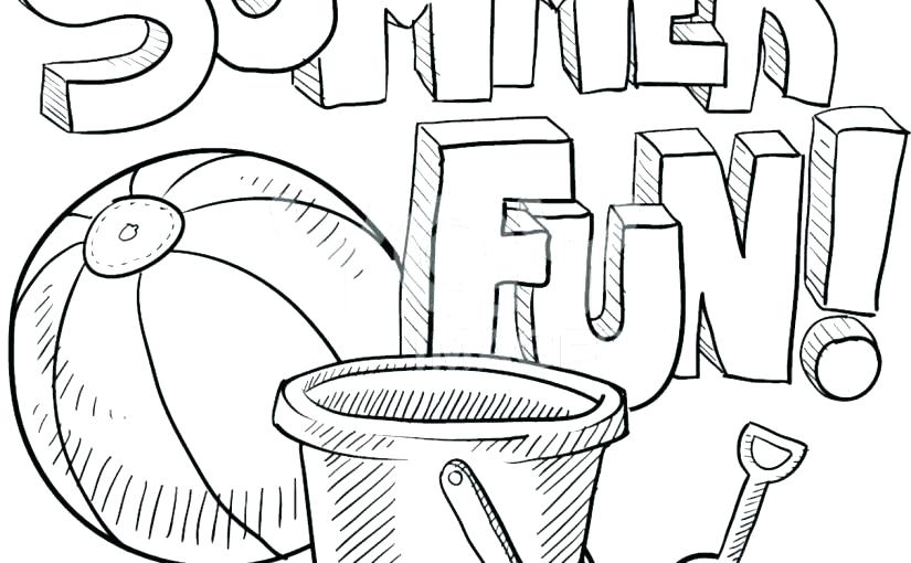 825x510 Summer Coloring Pages Unique Summer Coloring Pages Ideas On Summer