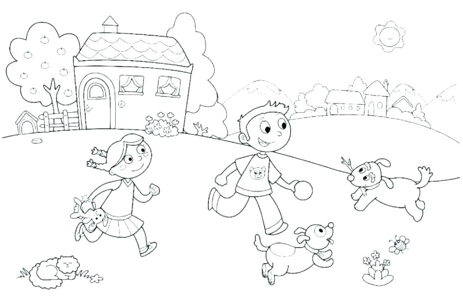 Summer Season Coloring Pages At Getdrawings Com Free For Personal