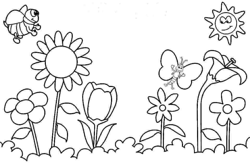 959x626 Vacation Coloring Pages Summer Season Coloring Pages Coloring