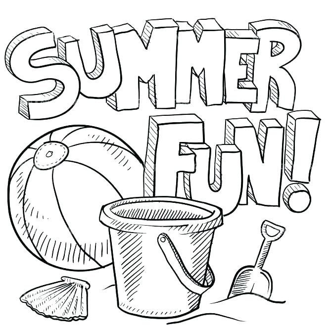 671x671 Coloring Pages For Summer At The Funfair Colouring Page Coloring