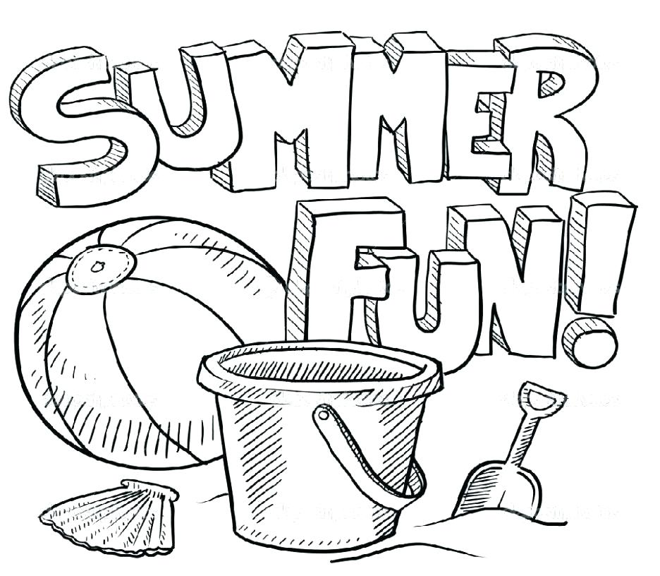936x816 Summer Coloring Book Summer Coloring Images Summer Themed Coloring