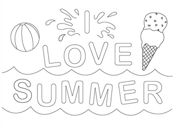 Summertime Coloring Pages at GetDrawings.com | Free for ...