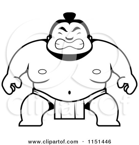 Sumo Coloring Pages At Getdrawings Com