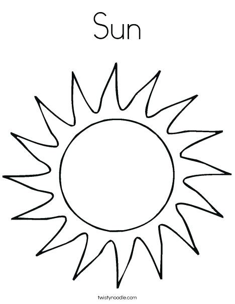 468x605 Moon Coloring Sheet Moon Sun Clouds Coloring Page Image Images