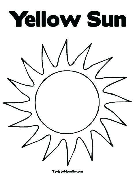 468x605 The Sun Is Shy And Hide Behind The Clouds Coloring Page The Sun Is