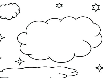 430x323 Cloud Coloring Page Cloud Coloring Pages Together With Rain Cloud