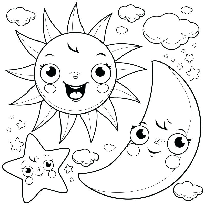 800x800 Sun Coloring Pages Meet My Friend Rainbow Say The Sun Coloring