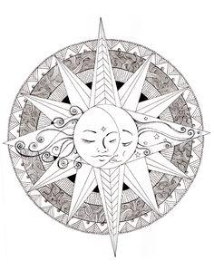 236x309 Sol, Luna Y Estrellas Enredados' Cuaderno De Espiral