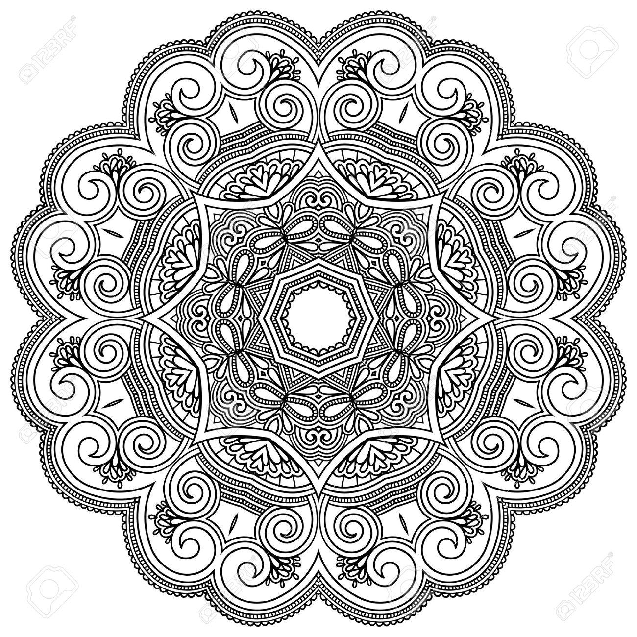 1300x1300 Sun And Moon Mandala Coloring Pages