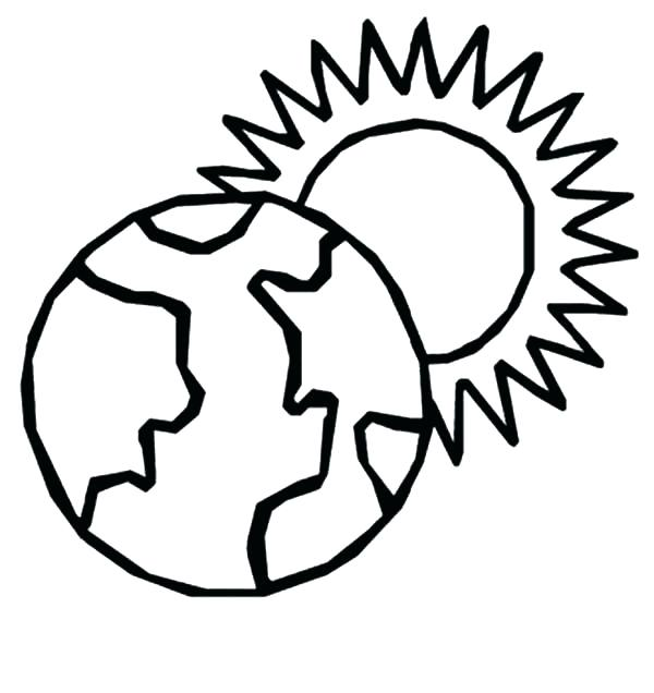 600x636 Sun And Moon Coloring Pages Sun Coloring Page Sun Coloring Pages