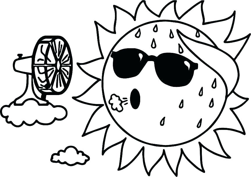 863x609 Sun And Moon Coloring Pages Icontent