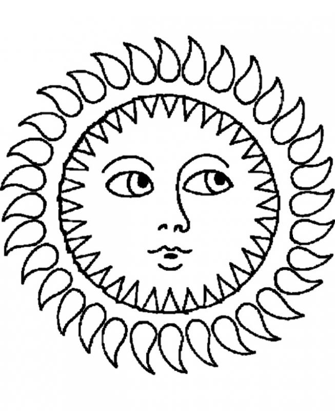 653x800 Printable Sun Coloring Pages Coloring Me