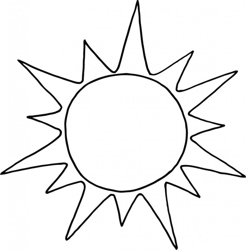 1005x1024 Incredible Decoration Sun Coloring Page Free Printable Sun