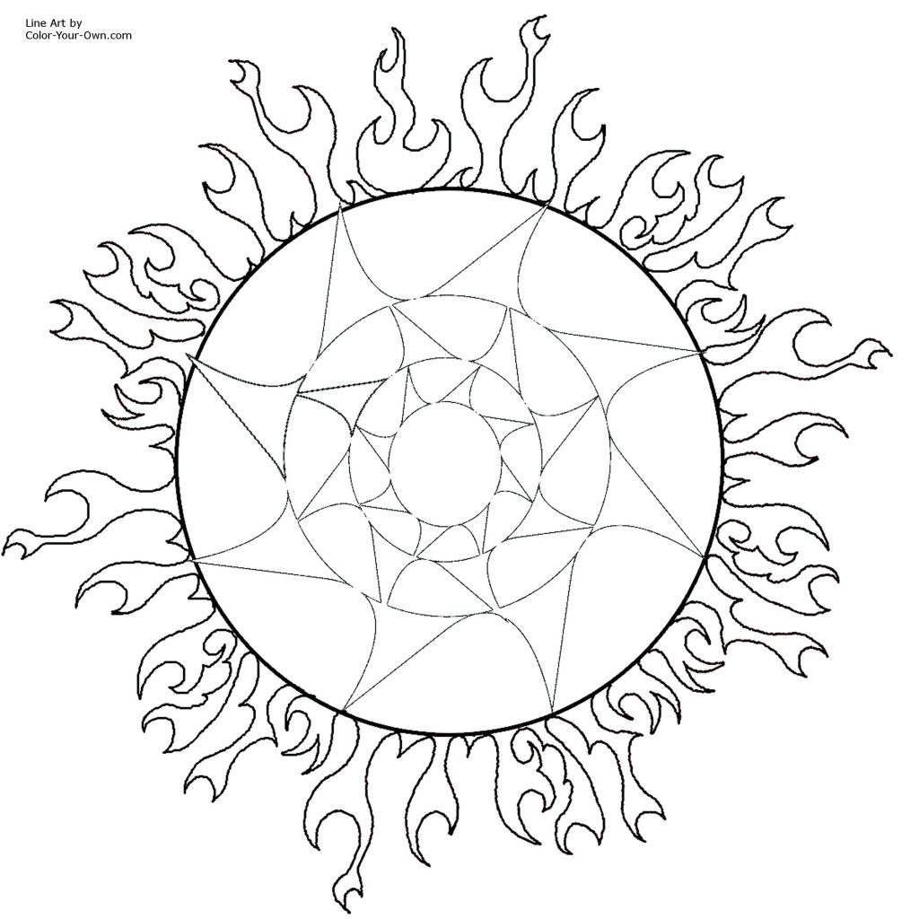 1024x1024 Coloring Pages Sun Coloring Page Printable Size Click Here