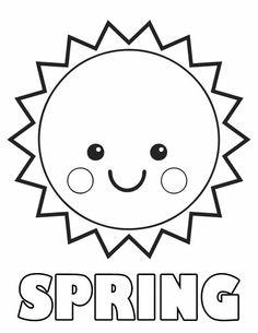 236x305 Spring Sun Coloring Pages Nature