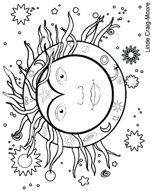 628x792 Sun Coloring Page Cool Sun Coloring Pages With Glasses Free