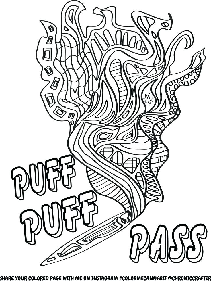 736x981 Trippy Sun Coloring Pages Printable Coloring Marijuana Coloring