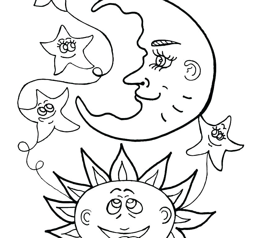 820x768 Sun Coloring Pages Sunshine Coloring Pages Coloring Page Sun