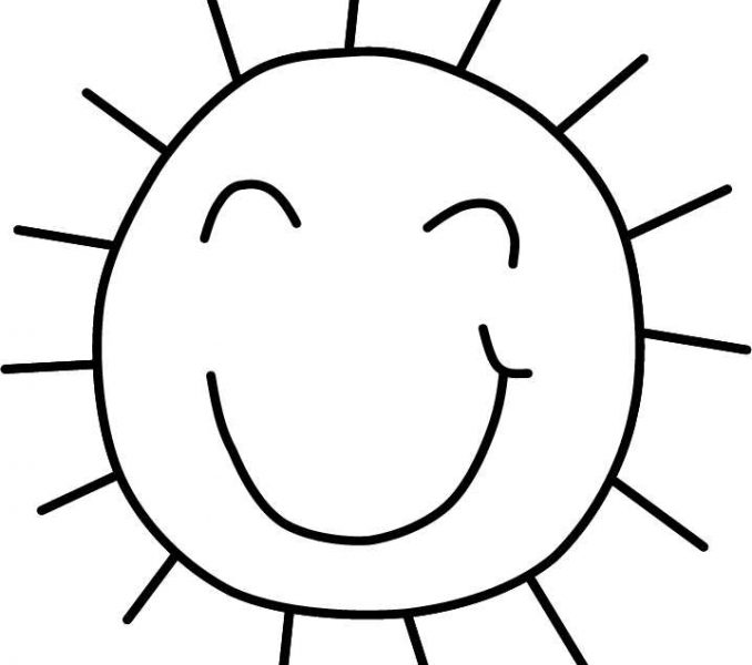 678x600 Sun Coloring Pictures Coloring Page