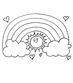 236x266 Free Coloring Pages Sunshine, Printing And Birthdays
