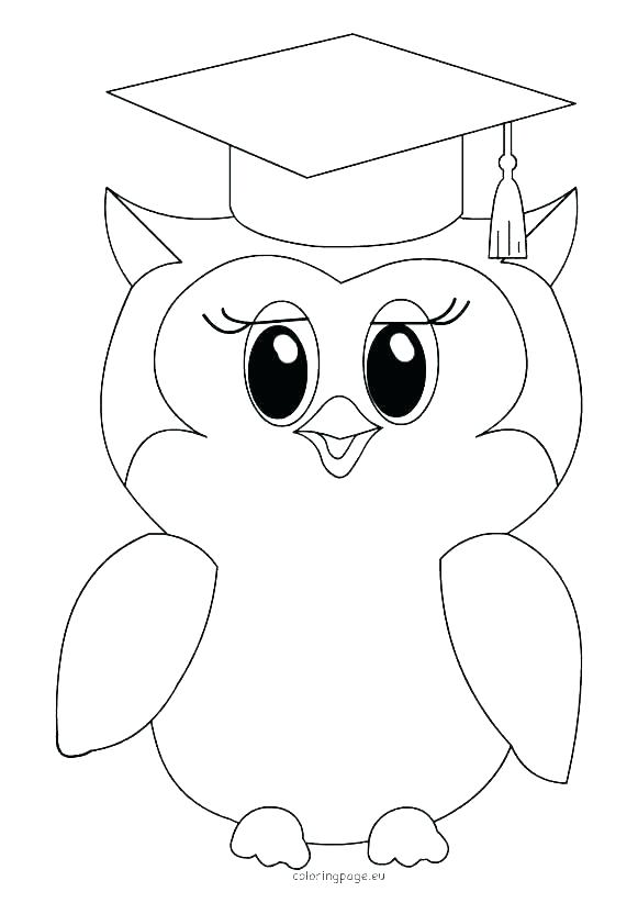 581x822 Graduation Cap And Gown Coloring Sheets Icontent