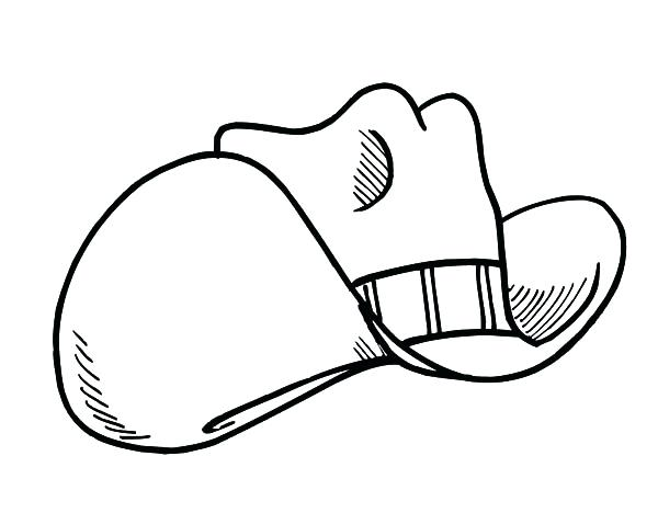 600x468 Cowboy Boot Coloring Page Free Printable Cowboy Boot Coloring Page