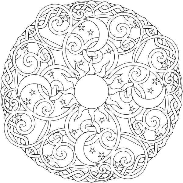600x600 On Sun And Moon Coloring Pages Coloring Pages Sun Moon Coloring